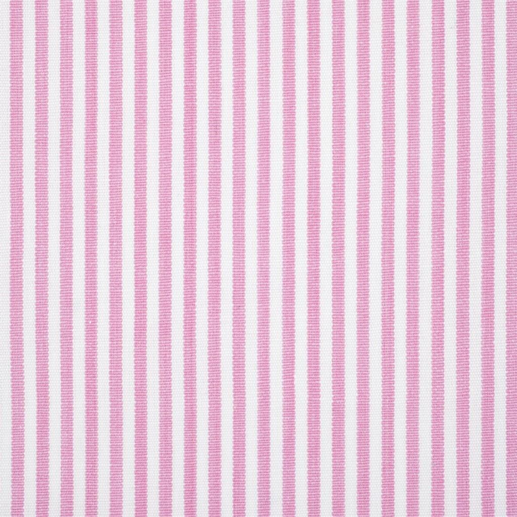 Klassisk stripet stoff til gardiner, sengetepper og puter.