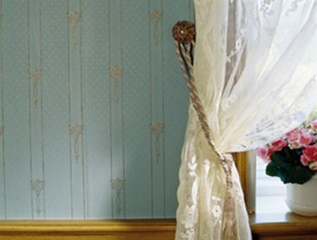 Norsk Arv tapet i nydelig blåfarge. Denne finnes også i flere farger.