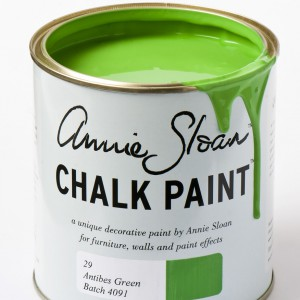 chalk paint antibes green