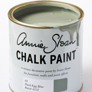 chalk paint duck egg blue
