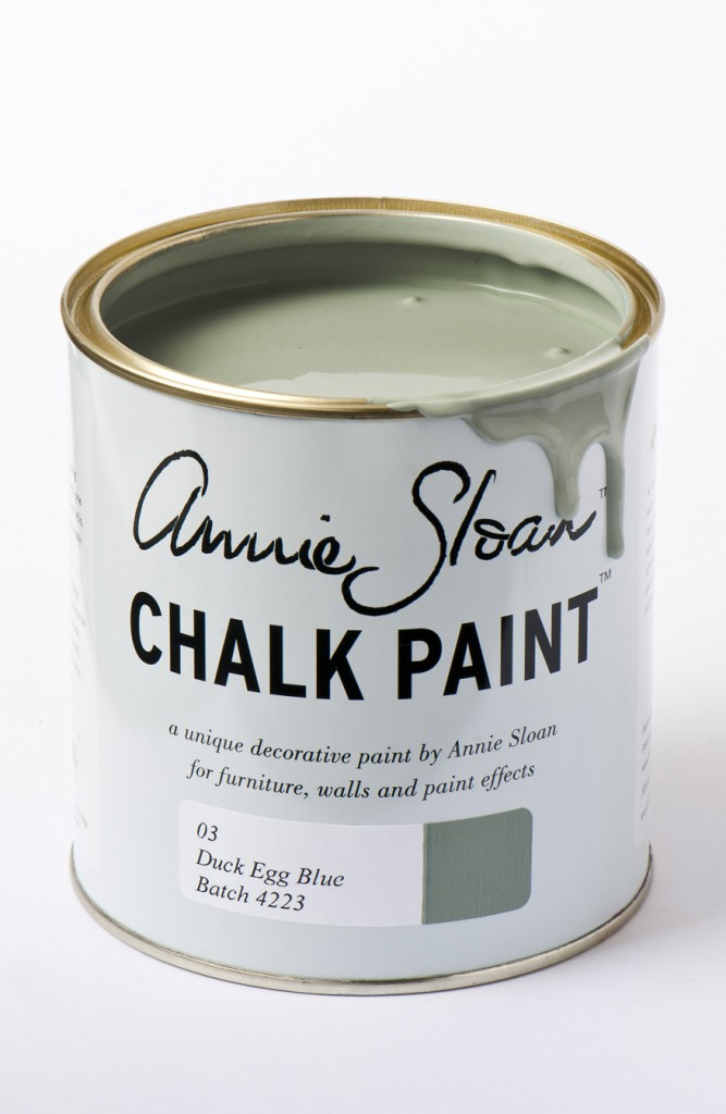 chalk paint duck egg blue
