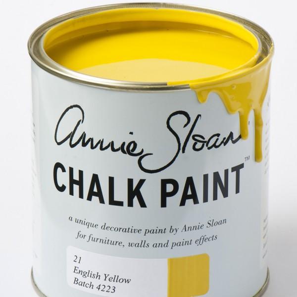 chalk paint english yellow