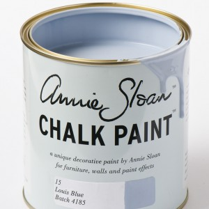 chalk paint louis blue