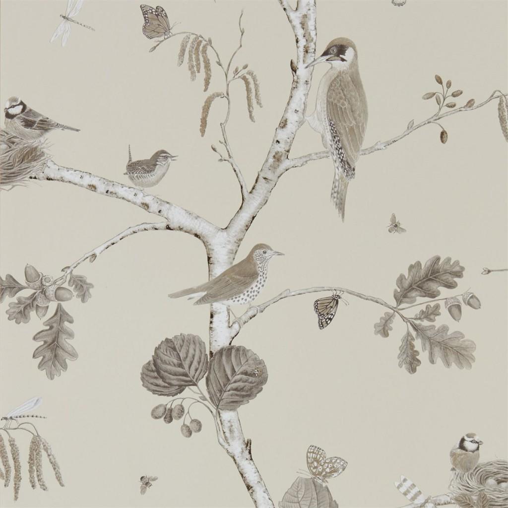 Sanderson bird hvit