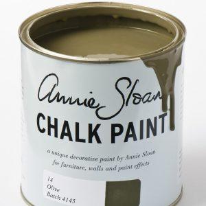 chalk paint olive_896