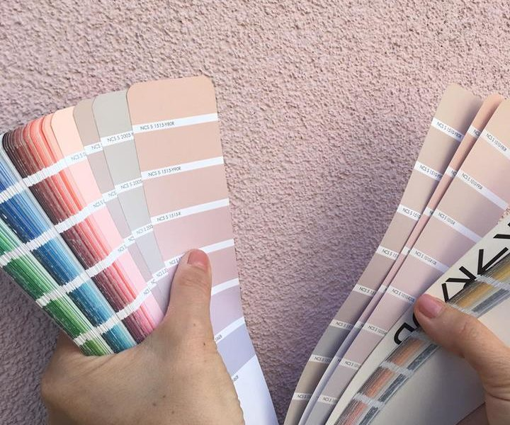 Fargesetting av fasader