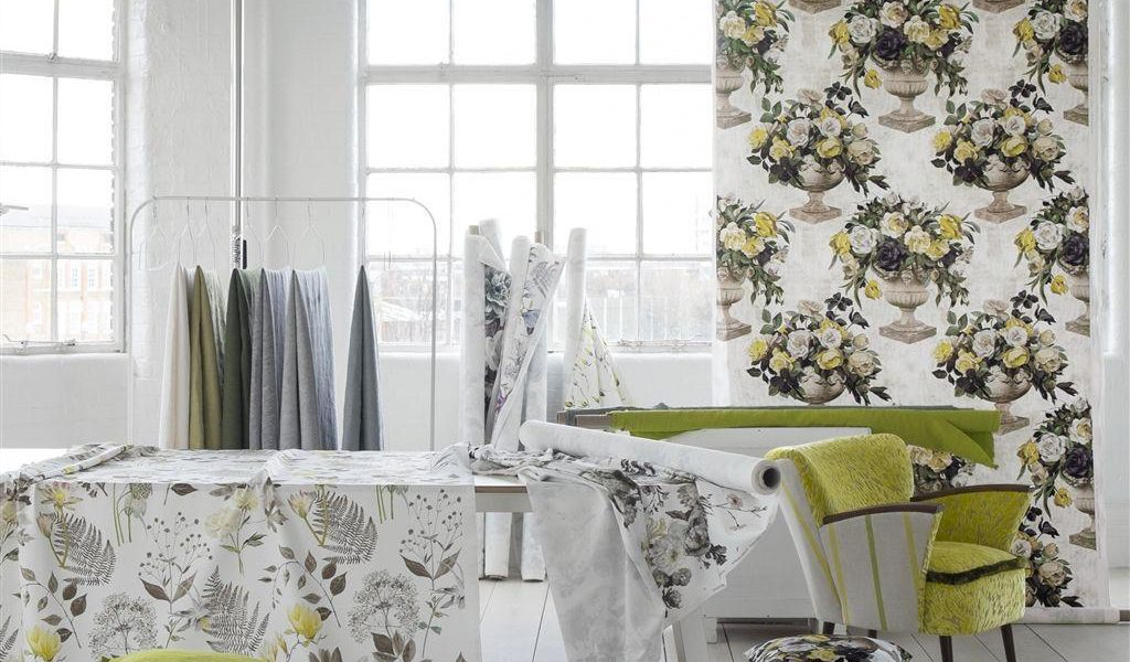 DESIGNERS GUILD GARDINSTOFF DIGITALPRINT