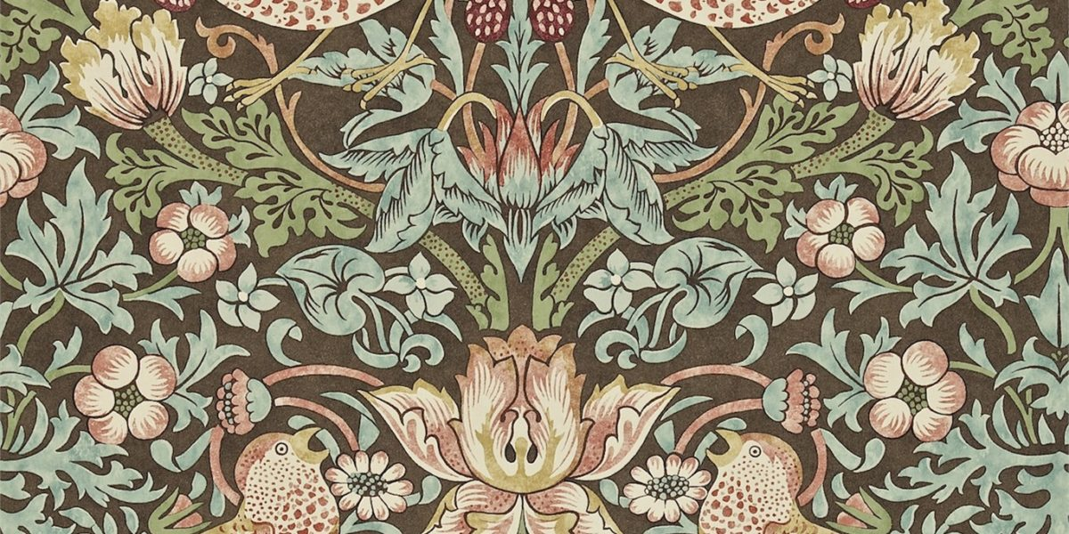 William Morris Tapet og tekstiler